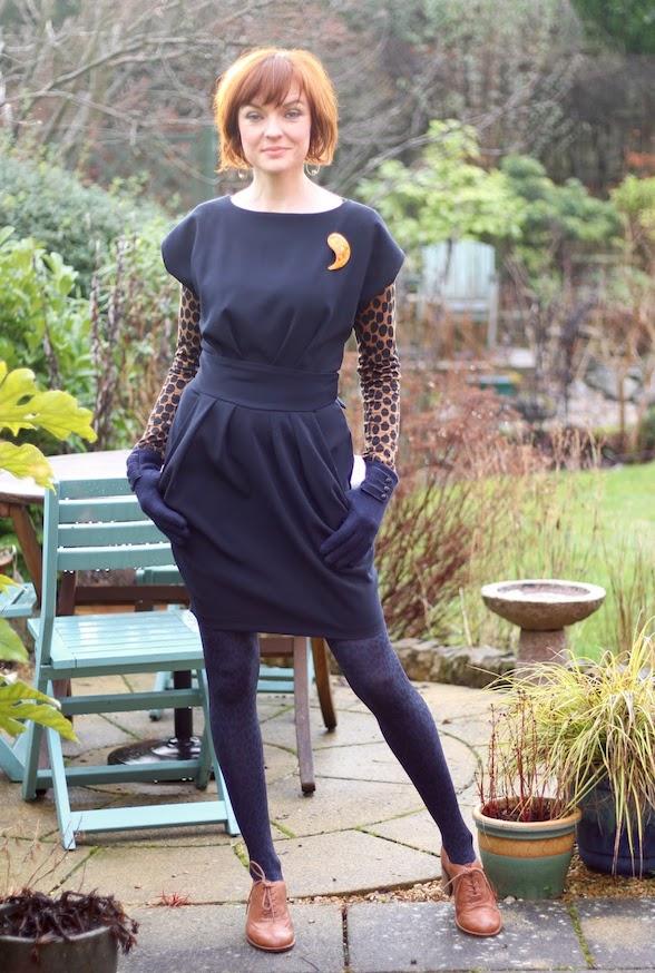 dress built-in waist