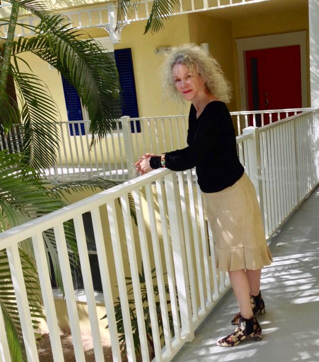 suede skirt comparison