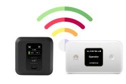 ファーウェイ Mobile WiFi E5785と富士ソフトのFS040Wを比較してみた。