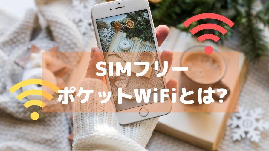 SIMフリーのポケットWiFiとは何か