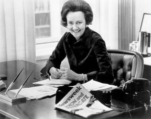 Periodista Washington Post Katharine Graham