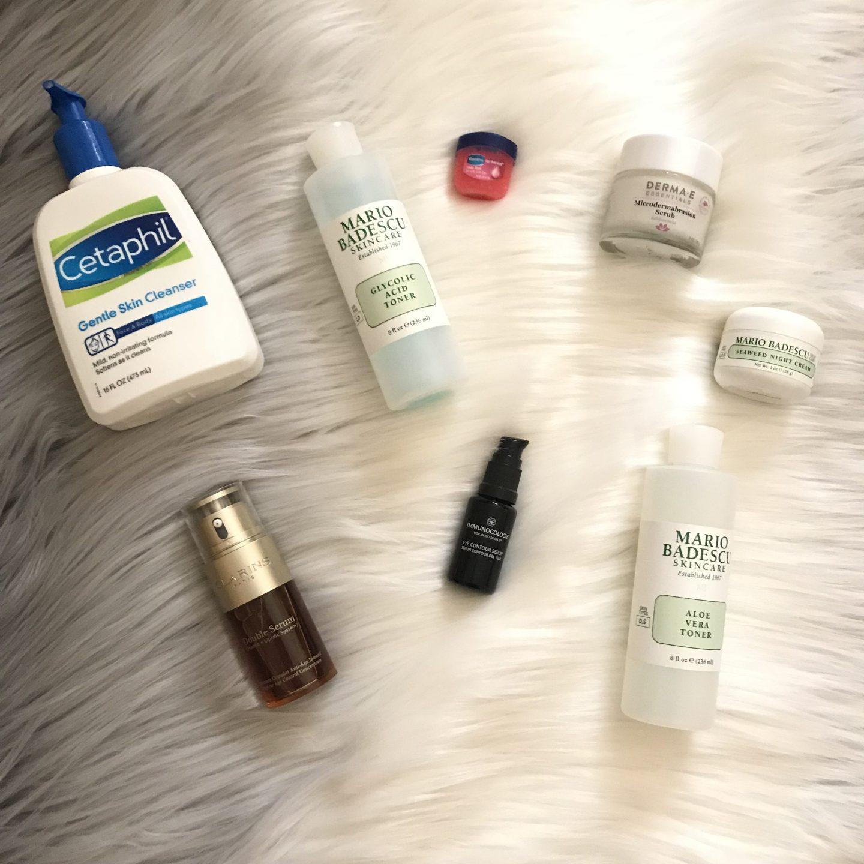   Nighttime Skin care routine-Winter edition  