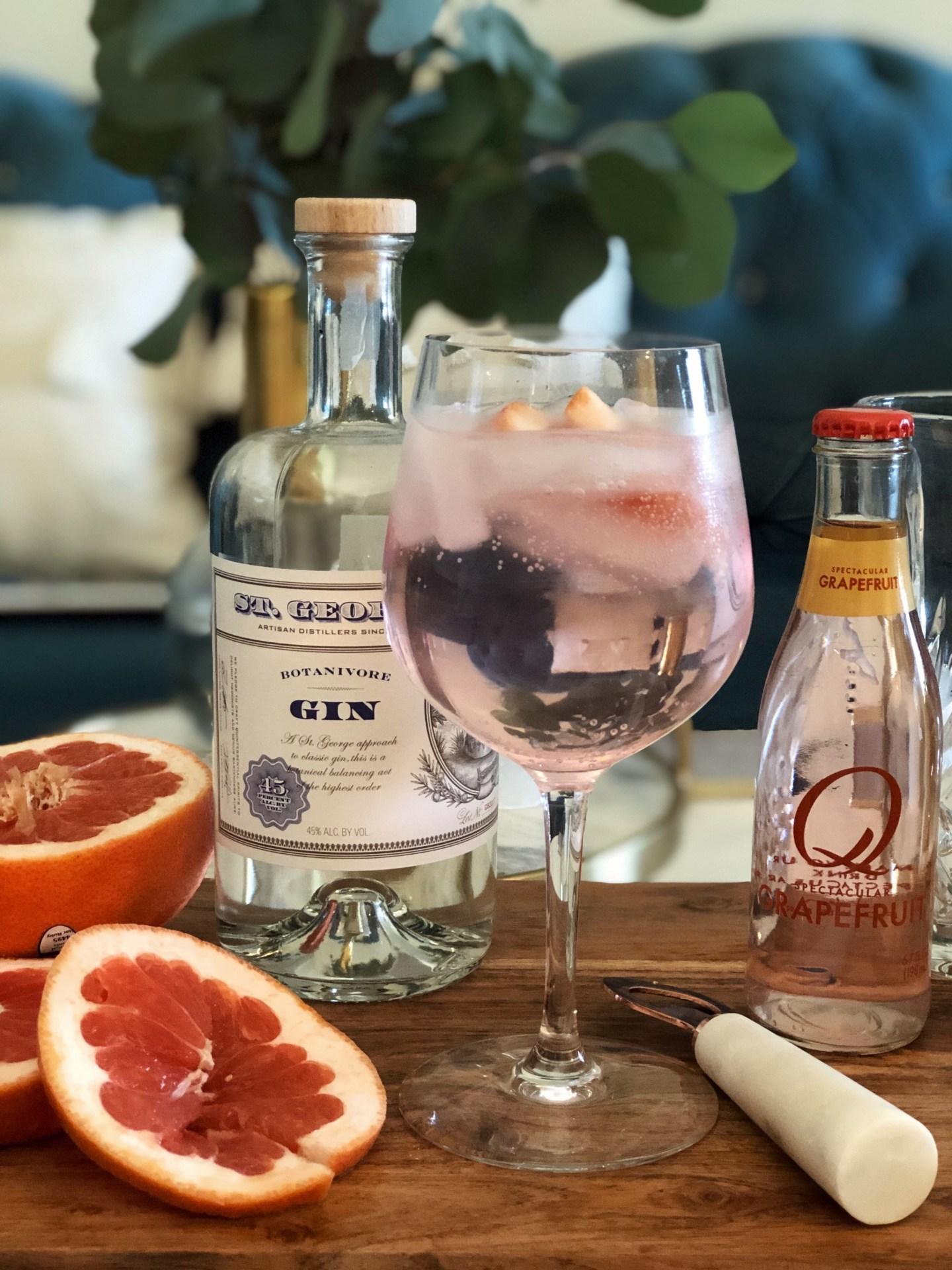 | Gin & tonic-grapefruit |