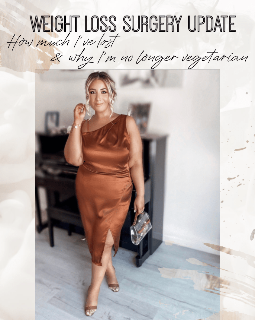 | Weight loss surgery update-How much I've lost & why I'm no longer vegetarian |