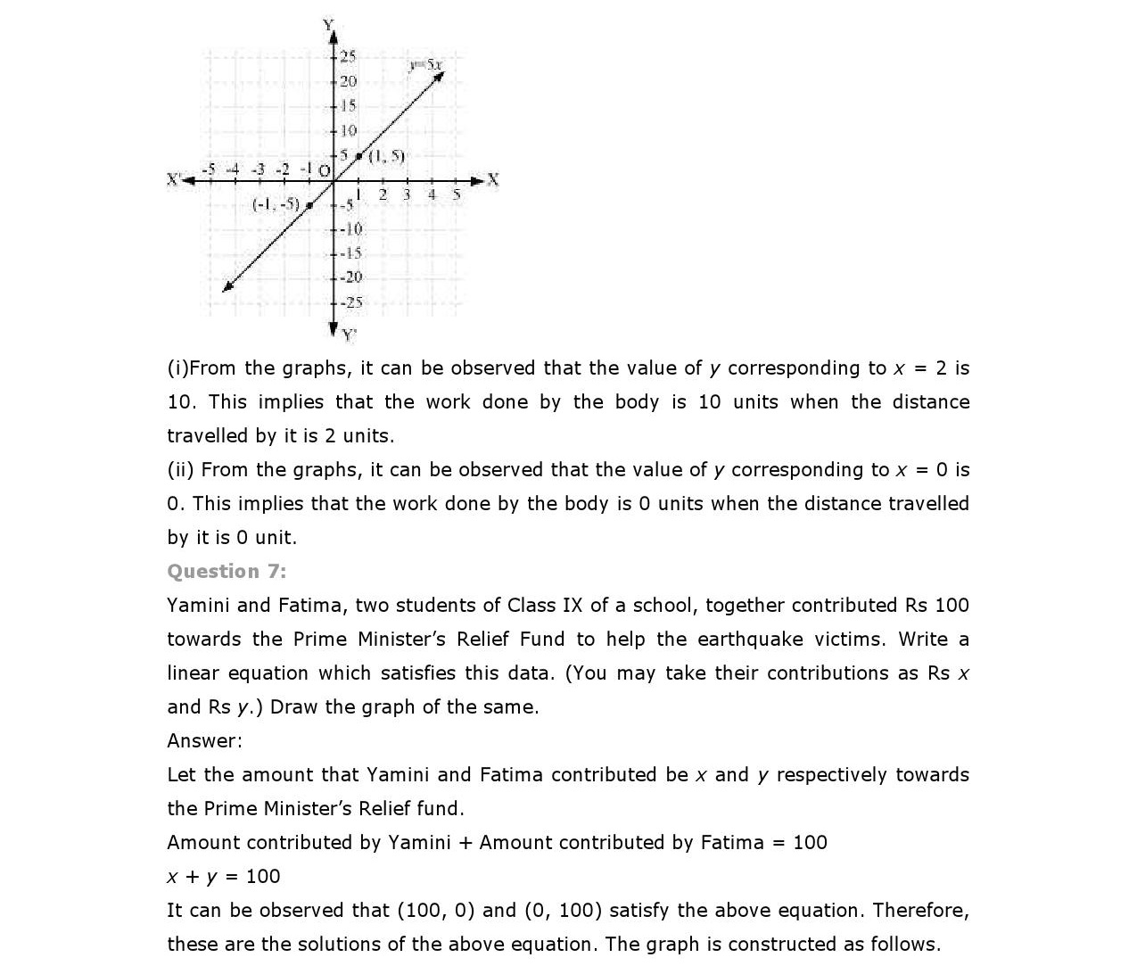 4 Linear Equations In Two Variables Note Blast