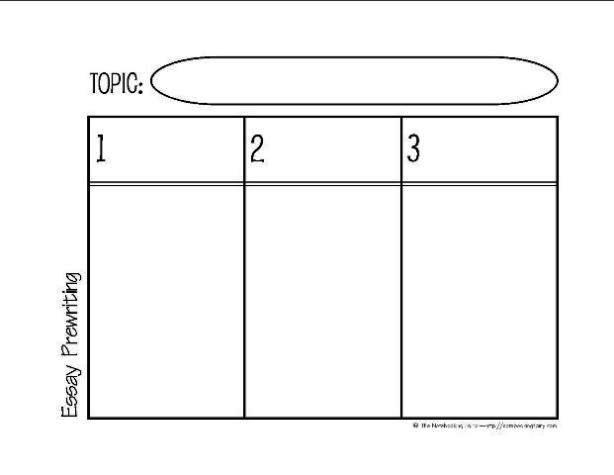 Blt essay sandwich graphic organizer