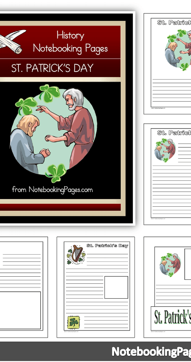 St. Patrick's Day in Your Homeschool Notebooking Pages