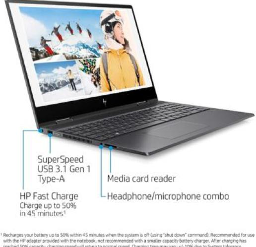 Affordable 2 in 1 Laptop - HP ENVY x360 - 15-ds1010nr - notebookinsight.com