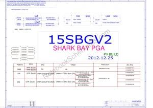 HP Envy TouchSmart 15 schematic – 15SBGV2D6050A2548101MB