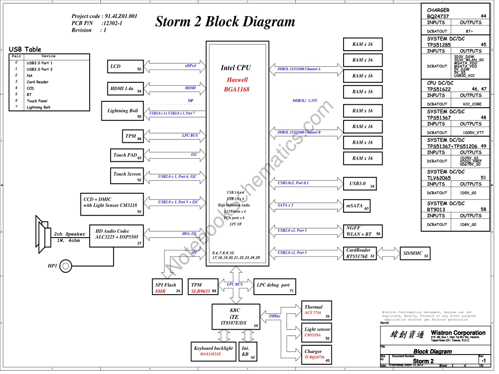 Acer Aspire S7 392 Schematic 1 Acer Storm2 M B