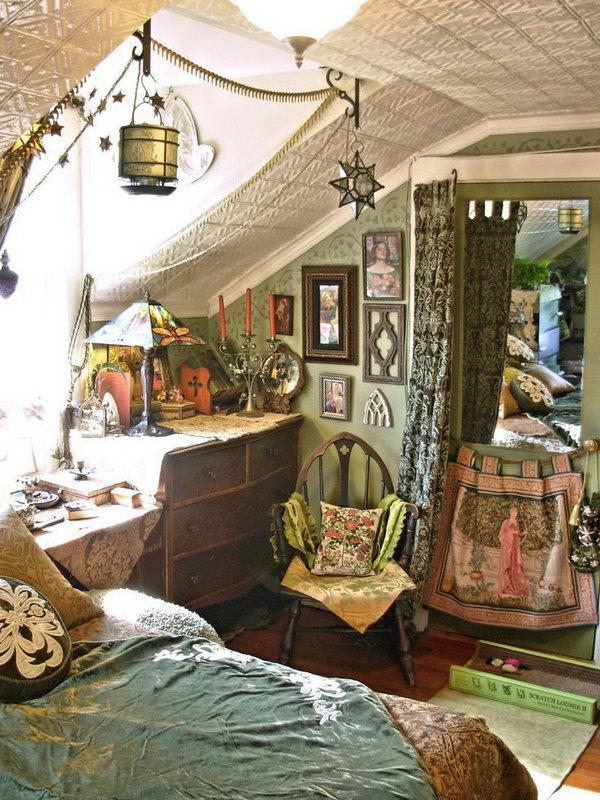 10+ Beautiful Bohemian Bedroom Ideas - Noted List on Bohemian Bedroom Ideas  id=48639