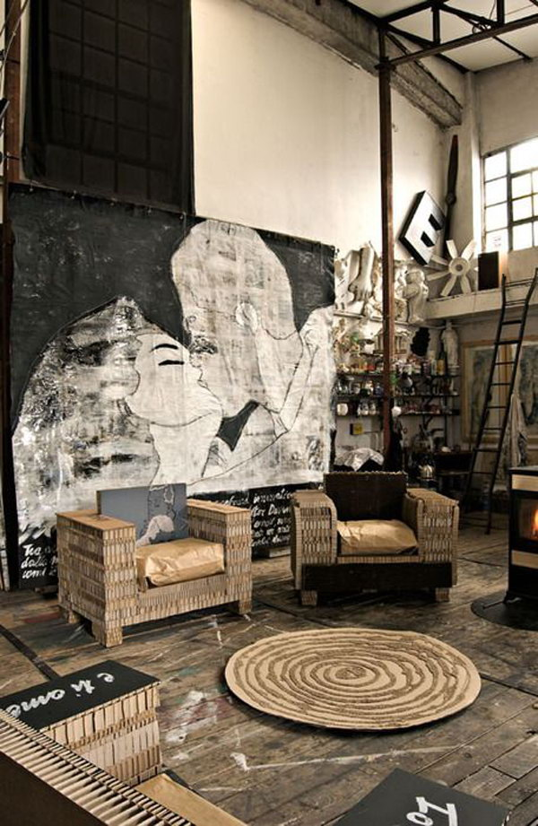 20 Eye Catching Industrial Living Room Ideas Noted List