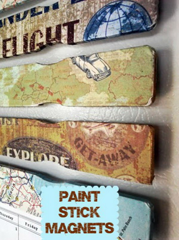 15 Easy DIY Paint Stick Projects Noted List