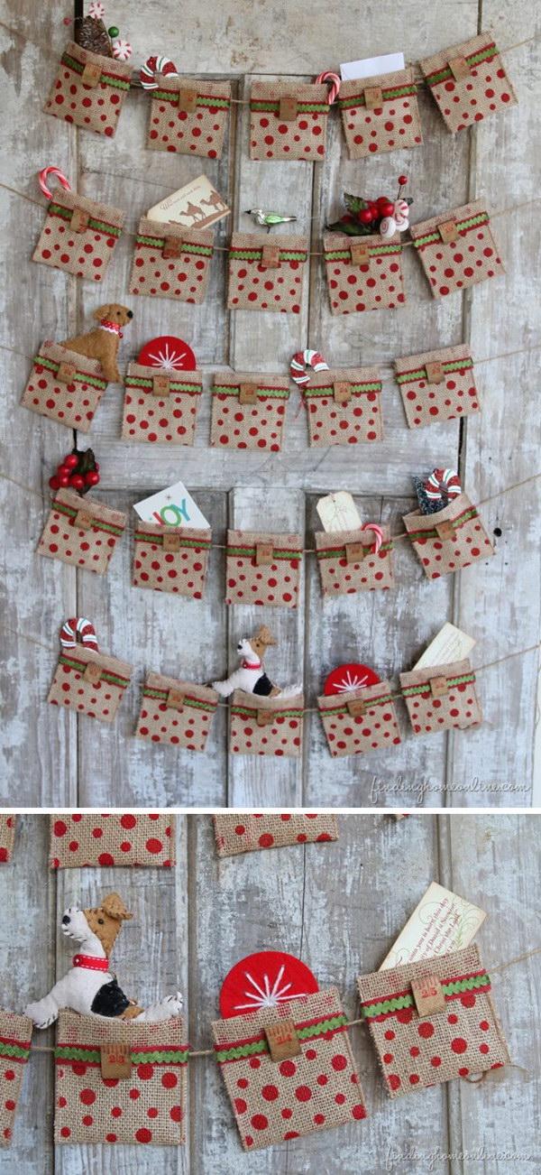DIY Christmas Countdown Calendar Ideas Amp Tutorials Noted