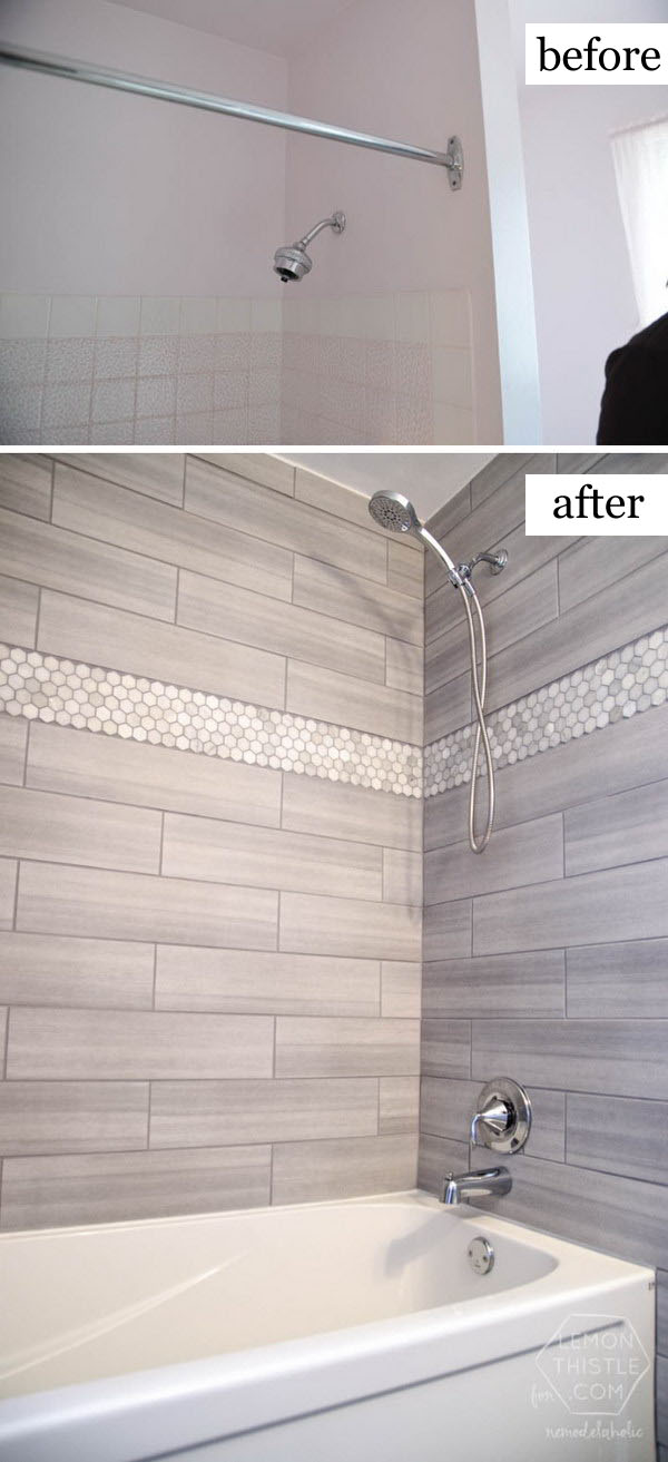 Before and After Makeovers: 20+ Most Beautiful Bathroom ... on Small:tyud1Zhh6Eq= Bathroom Remodel Ideas  id=97451