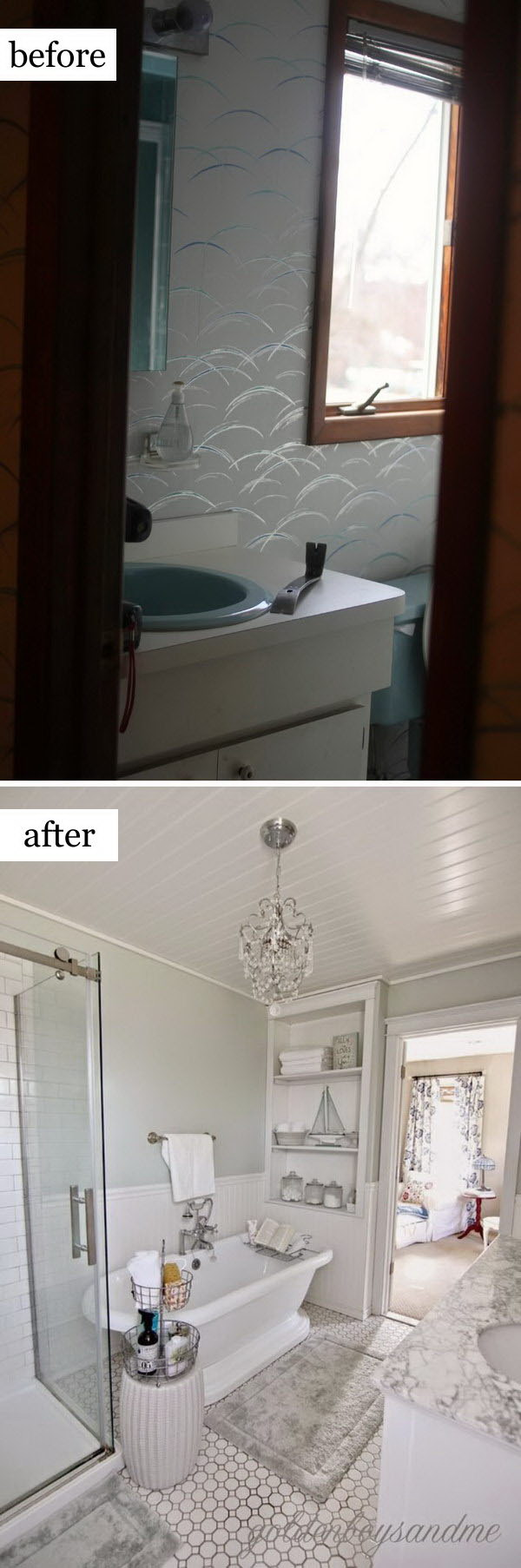 Before and After Makeovers: 20+ Most Beautiful Bathroom ... on Beautiful Bathroom Ideas  id=78554