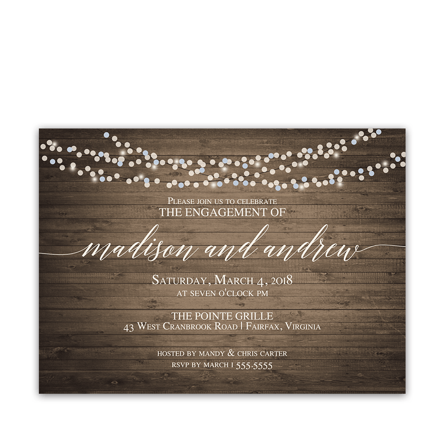 Same Day Bridal Shower Invitations