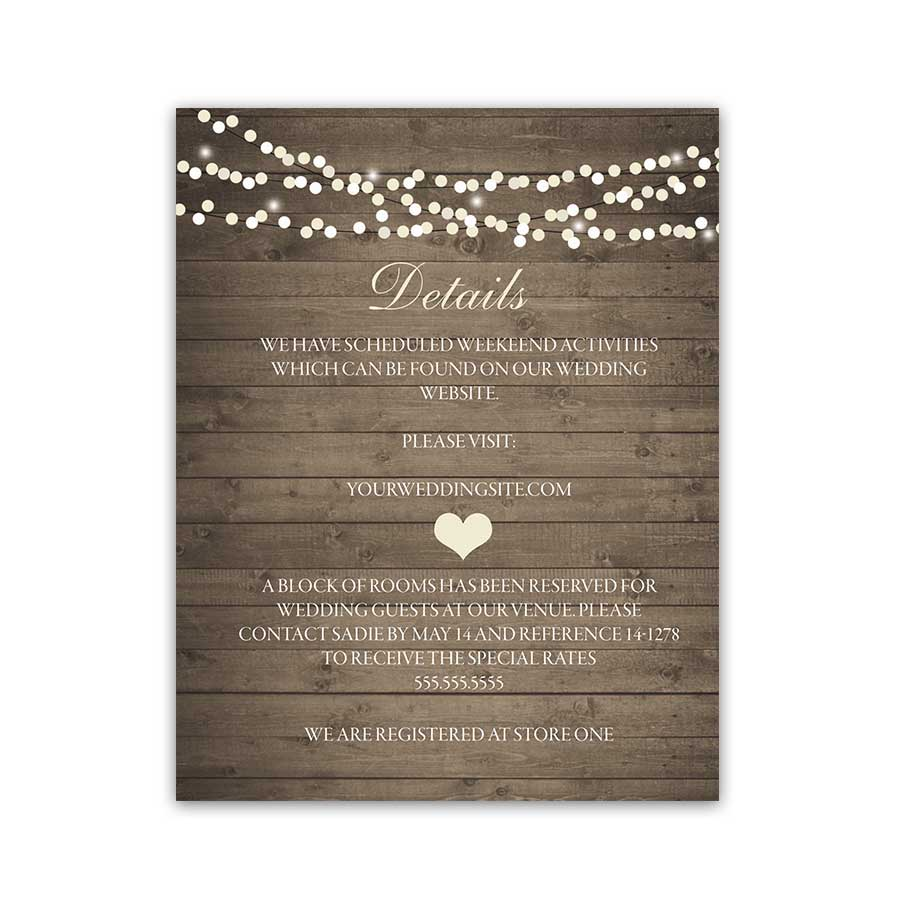 Rustic Wedding Invitations Affordable