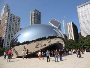Foto de la escultura Cloud Gate, Chicago