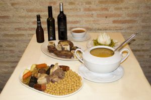 cocido madrileño en Cruz Blanca Vallecas