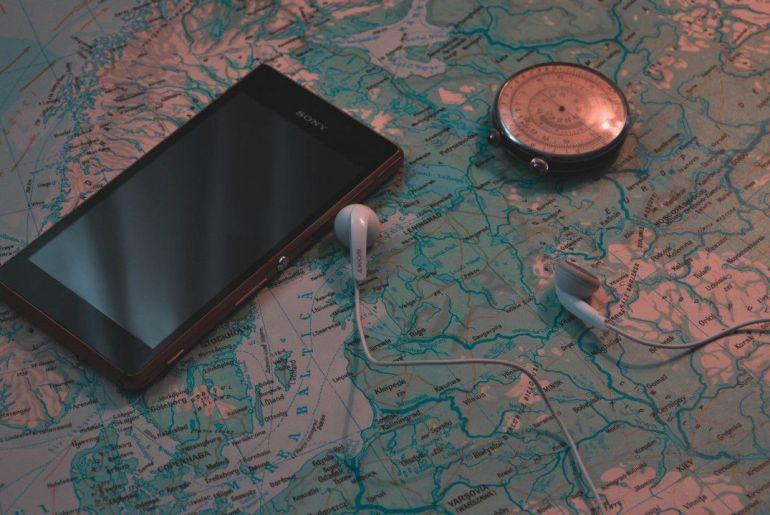 smartphone viajero