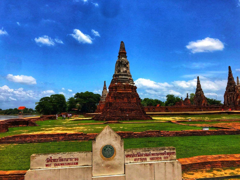 Atutthaya Wat Chaiwatthanaram