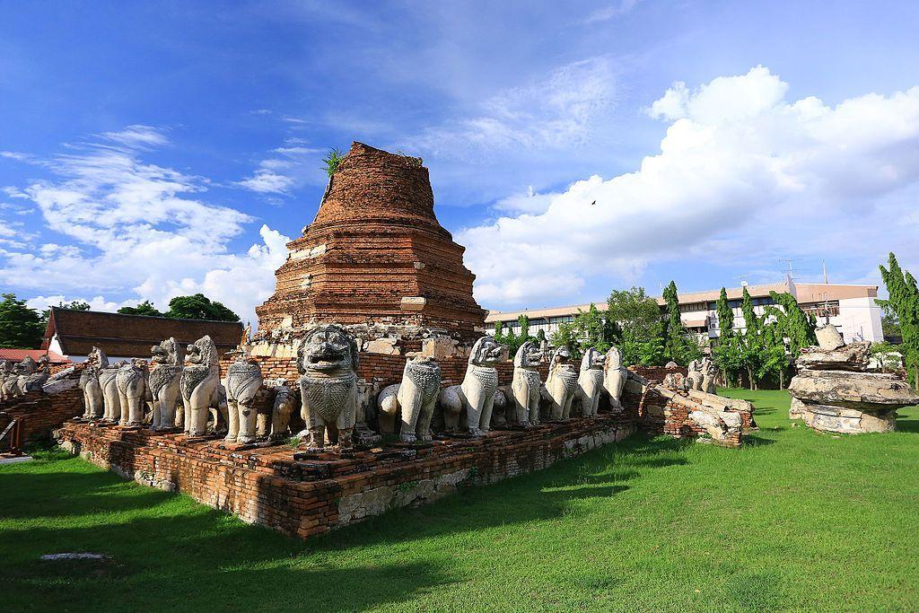 Ayutthaya Wat thammikarat