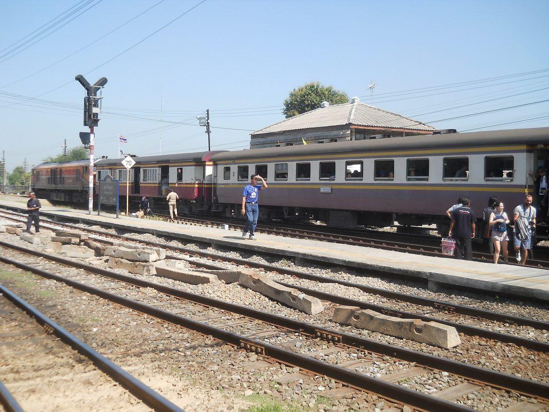 Ayutthaya estación de tren