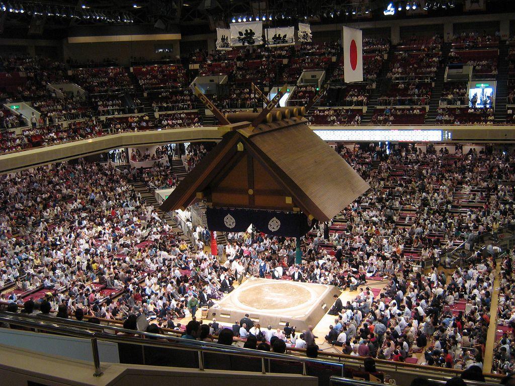 Estadio Kokugikan, Tokio, Japón