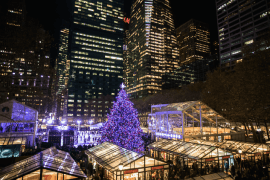 los mejores mercados de navidad de Nueva York