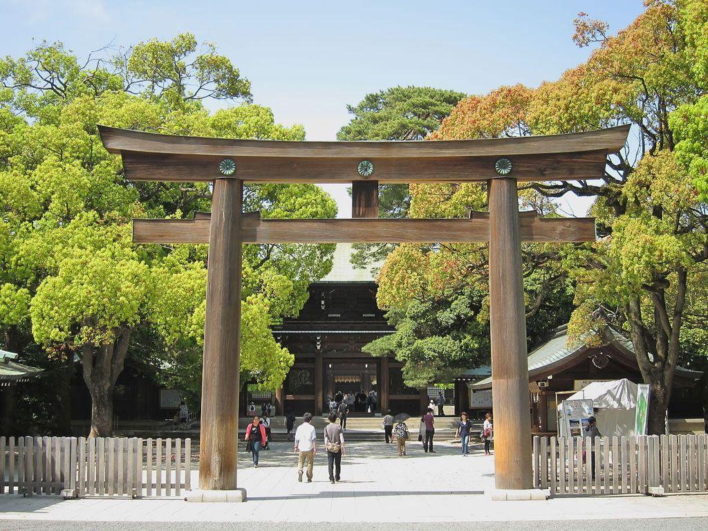 Santuario Meiji, Tokio, Japón