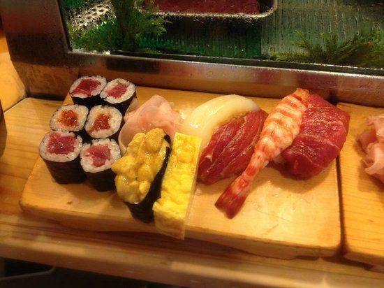 daiwa-sushi, Tokio, Japón