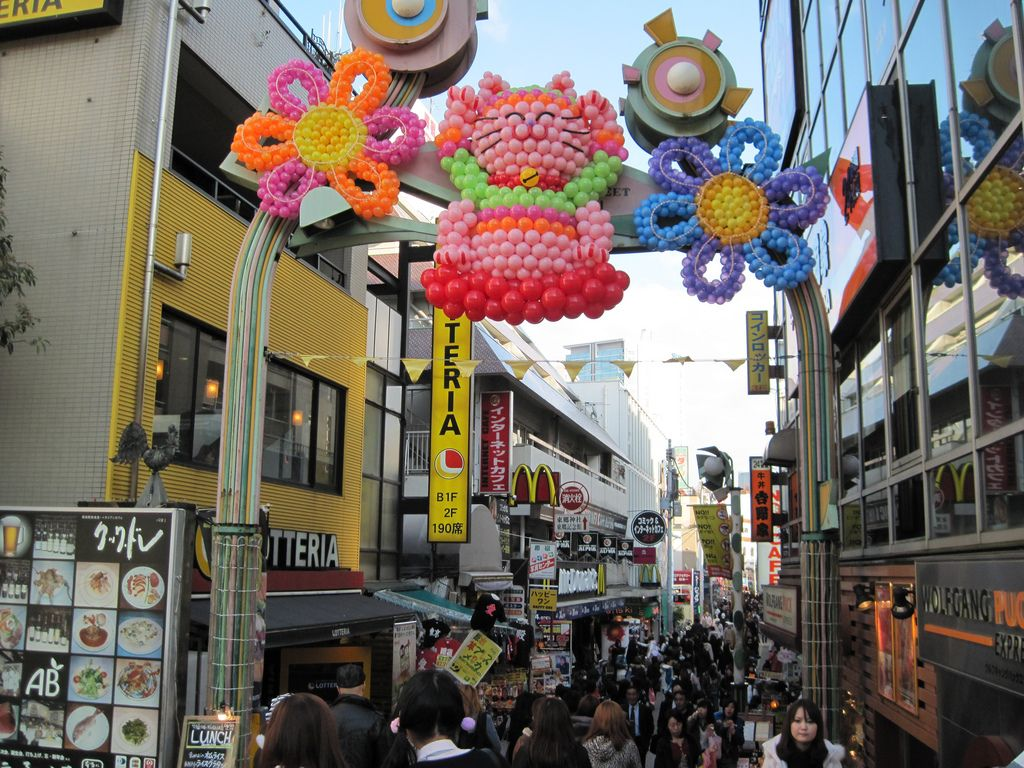 takeshita dori, Tokio, Japón