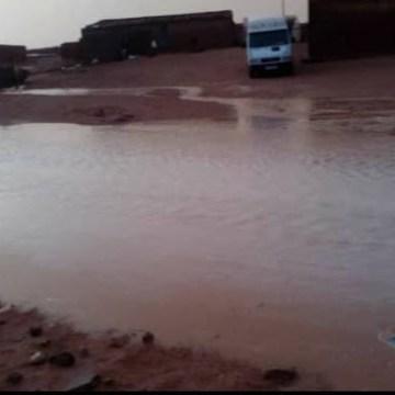 Inundaciones en los campamentos: las impresionantes imágenes tras las «peligrosas» lluvias. — El Confidencial Saharaui