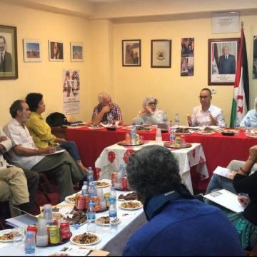Participación en la Conferencia sobre Cooperación y Desarrollo del Estado Saharaui — Liga de Estudiantes y Jóvenes Saharauis en el Estado Español