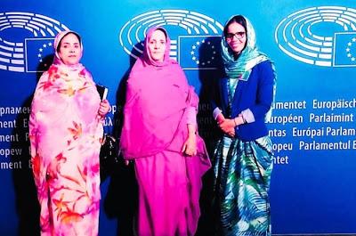 Mujeres saharauis conferencian ante el Parlamento Europeo — DIARIO LA REALIDAD SAHARAUI