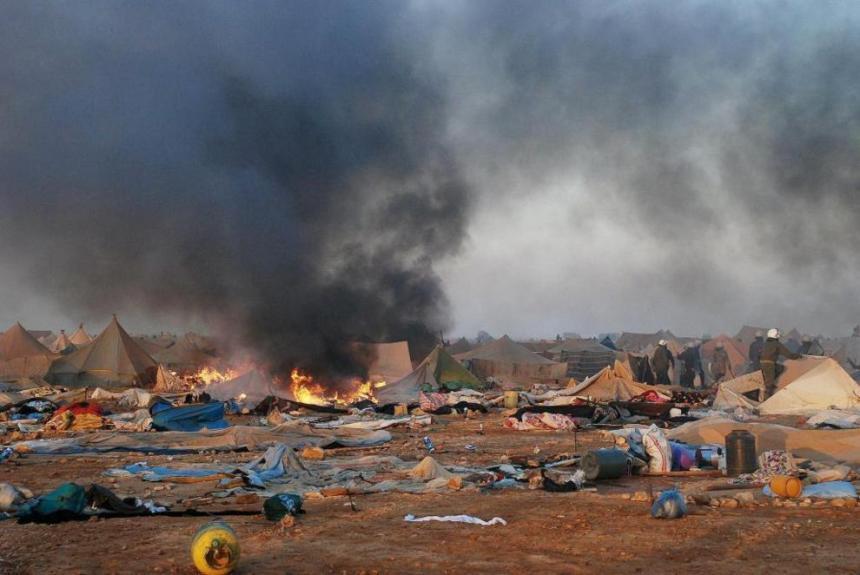 Efeméride: Campamento de Gdeim Izik. — Liga de Estudiantes y Jóvenes Saharauis en el Estado Español