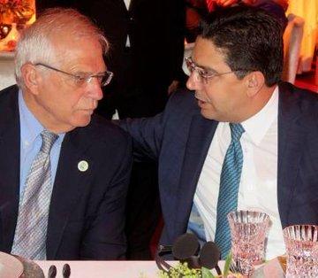 Borrell visita Rabat y vuelve a estar con el ministro de Exteriores marroquí con el que ¡llevaba 4 meses sin reunirse!