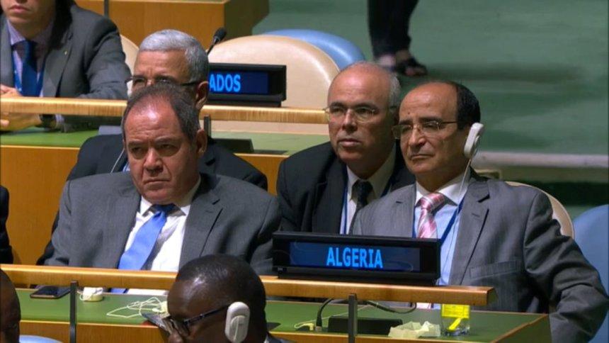 #Argelia 🇩🇿 deja claro que su participación en las negaciones entre el F. #Polisario y #Marruecos solo responde a su rol como país vecino y observador en el proceso liderado por la @ONU_es  para la descolonización del #SaharaOccidental 🇪🇭