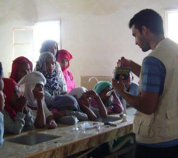 Comienza un nuevo proyecto en los campamentos saharauis: fortalecimiento del sistema educativo en la wilaya de Bojador – ISF Aragón