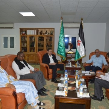 President of Republic receives South African Deputy Minister of International Relations and Cooperation | Sahara Press Service