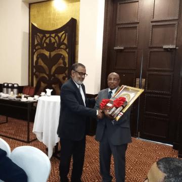 Brahim Salem Buseif finaliza su misión como embajador extraordinario y plenipotenciario de la RASD ante Tanzania | Sahara Press Service