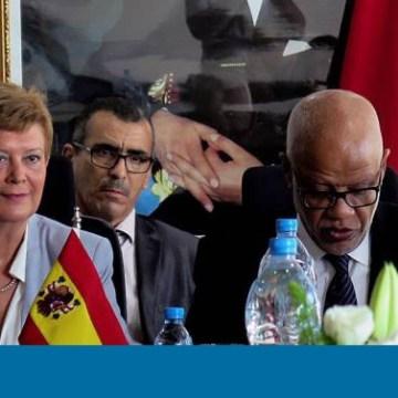"""La secretaria de Estado de Migración, Consuelo Rumí, ha expresado este martes en Rabat la intención del Gobierno español de convertirse en """"la voz"""" de Marruecos ante la Unión Europea   España   EL PAÍS"""