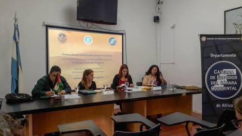 Argentina: Mesa Especial sobre el Sáhara Occidental en el IX Congreso de Relaciones Internacionales de la UNLP — Voz del Sahara Occidental en Argentina