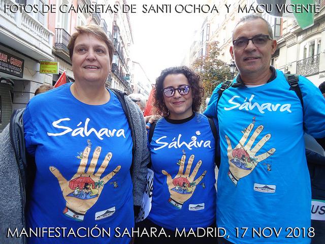 Camisetas del Sáhara – Por Santi Ochoa