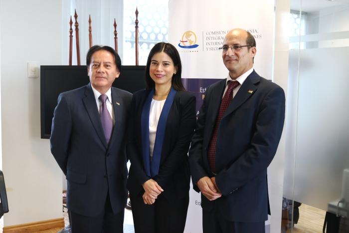 Presidenta de la Comisión de Soberanía de la Asamblea Nacional del Ecuador expresa interés por los últimos acontecimientos de la Causa Saharaui   Sahara Press Service