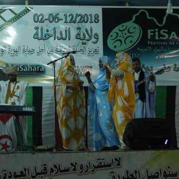 Inauguración del FiSahara 2018 en la wilaya de Dajla