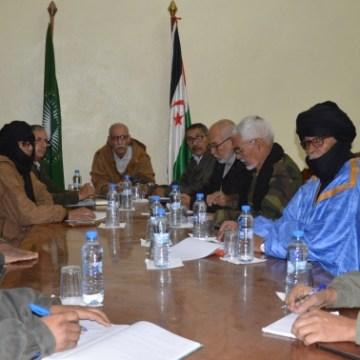 Réunion du Bureau Permanent du Secrétariat National du Front Polisario | Sahara Press Service