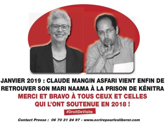 Un espoir enfin abouti : Claude a pu retrouver Naama à la prison de Kénitra
