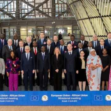 Imágenes de la reunión de ministros de asuntos exteriores de la Unión Africana y la Unión Europea que se celebra en Bruselas del 21 al 22 de enero